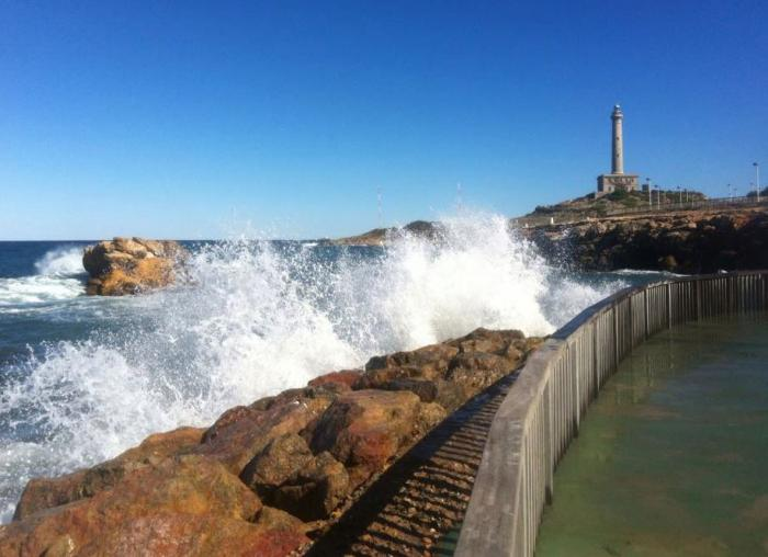 The Cabo de Palos lighthouse